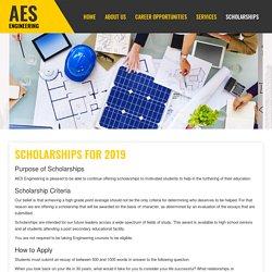 Scholarships - AES Engineering