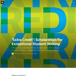 Extra Credit Essay Contest