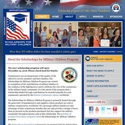 Scholarships for Military Children Program