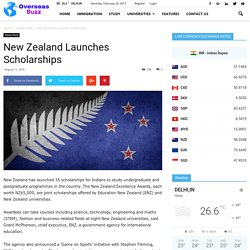 New Zealand Launches Scholarships - VisaHouse Blog