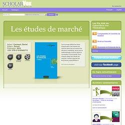 Les études de marché 4e édition