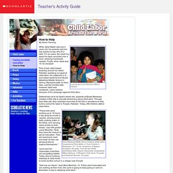 Scholastic News In-depth: Child Labor