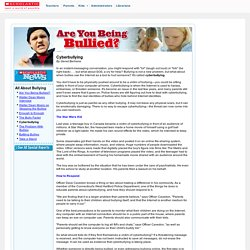 Scholastic News: Are You Being Bullied?