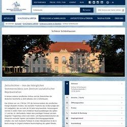 SCHLÖSSER & GÄRTEN > Schlösser & Gärten im Überblick > Objekt>Schloss Schönhausen:Stiftung Preußische Schlösser und Gärten