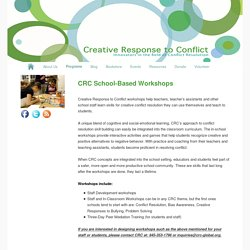 CRC School-Based Workshops