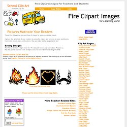School Clip Art - Free Fire Clipart Images & Pictures!