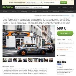 School Conduite, Paris 15 Paris extra Deal du jour