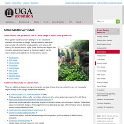 School Garden Curriculum