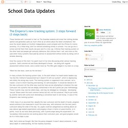 School Data Updates