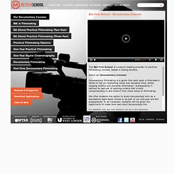 Met Film School - Documentary Courses