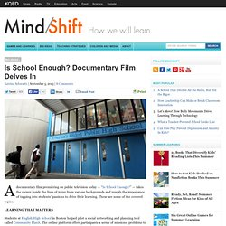 Is School Enough? Documentary Film Delves In