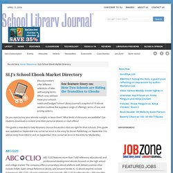 s School Ebook Market Directory