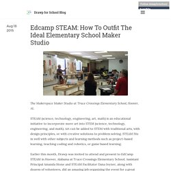 Drawp for School Blog - Edcamp STEAM: How To Outfit The Ideal Elementary...