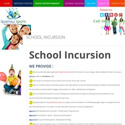 Best School Incusions in Sydney - Sparrowsports.com.au