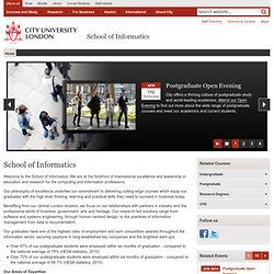 School of Informatics home page