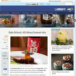 Sake School: All About Junmai-shu