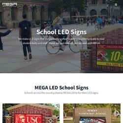 School LED Signs