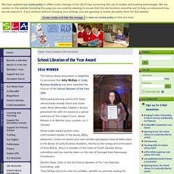 School Librarian of the Year Award