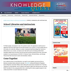School Libraries and Antiracism