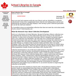 School Libraries in Canada Online!