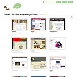 School Libraries using Google Sites I