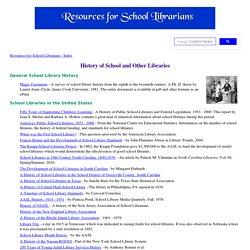 School Library History