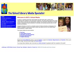 The School Library Media Specialist