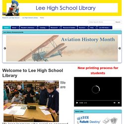 Lee High School Library (Valenza)