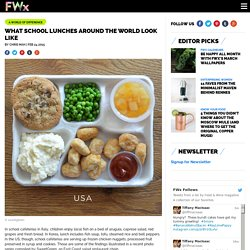 Here's What School Lunches Around the World Look Like