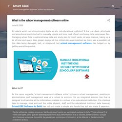 What is the school management software online