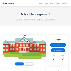 Get the Most Advanced School Management Software for Your School