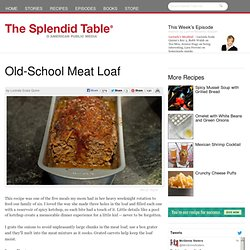 Old-School Meat Loaf