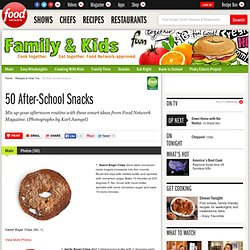 50 After-School Snacks : Recipes and Cooking : Food Network