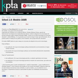 School 2.0: Modelo SAMR - Revista Educativa