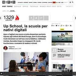 Wired - Up School, la scuola per nativi digitali