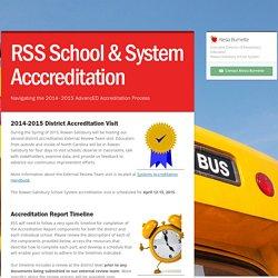 RSS School & System Acccreditation