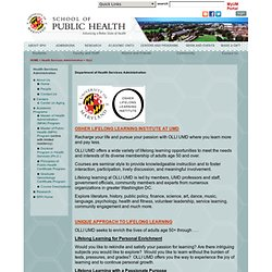 School of Public Health | University of Maryland