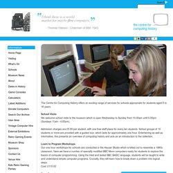 School Visits - Computer Museum