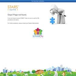 SchoolCity STARS™ ‹ SUITE ›