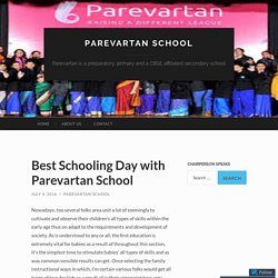 Best Schooling Day with Parevartan School