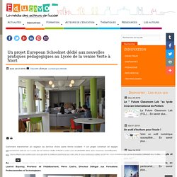 Un projet European Schoolnet dédié aux nouvelles pratiques pédagogiques au Lycée de la venise Verte à Niort