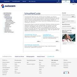 ber Swisscom - SchoolNetGuide