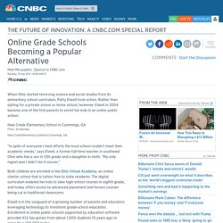 Online Grade Schools Becoming a Popular Alternative