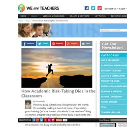 How Schools Discourage Risk-Taking