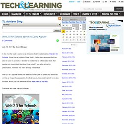 Tech Learning TL Advisor Blog and Ed Tech Ticker Blogs from TL Blog Staff – TechLearning.com