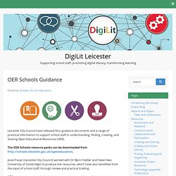 OER Schools Guidance