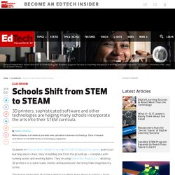 Schools Shift from STEM to STEAM