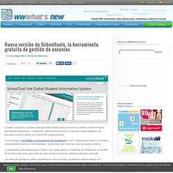 Nueva versión de Schooltools, la herramienta gratuita de gestión de escuelas - Waterfox