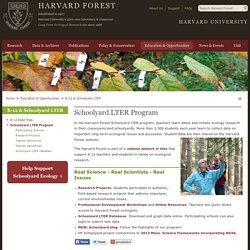 Schoolyard LTER Program
