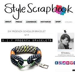Style Scrapbook: DIY: PROENZA SCHOULER BRACELET